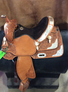 "13 1/2"" Billy Cook Barrel Saddle-BCB 2005"