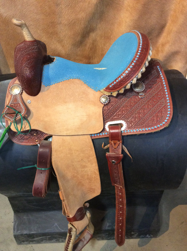 "15"" Irvine Barrel Saddle IB 166"