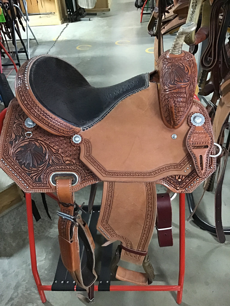 "14.5"" Irvine Barrel Saddle IB 1101"