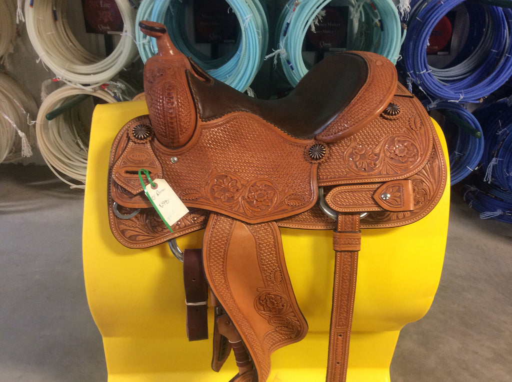 "15"" Irvine Custom Reining Saddle-IRR40"