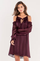 Miss Me Women's Show A Little Cold-Shoulder Dress