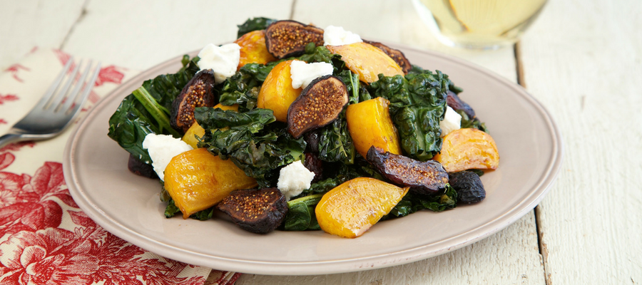 Top 5 Meal Kits Featuring Kale |  Roasted Kale & Beet Salad