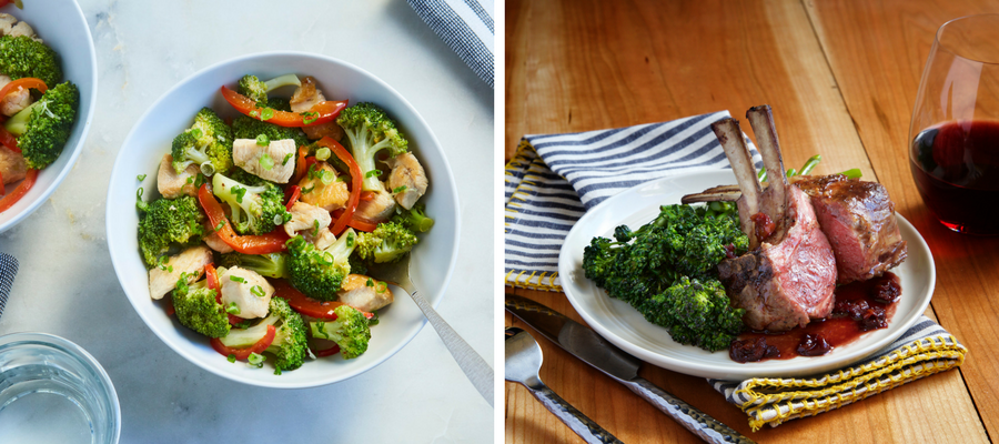 What to Eat in February | Broccoli Meal Kits
