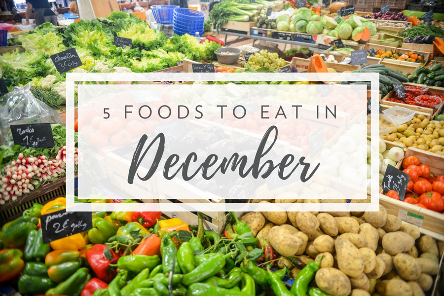 What's in Season in December | Fresh Meal Kit Delivery from Chef'd