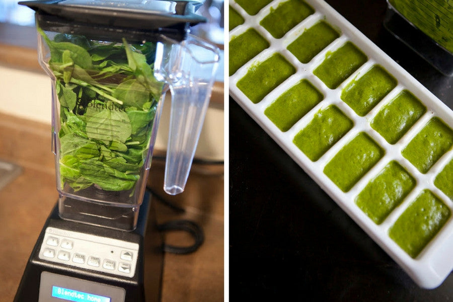 8 Clever Ways to Reuse Old Ice Trays | Become a Smoothie Master by Blending and Freezing Old Spinach
