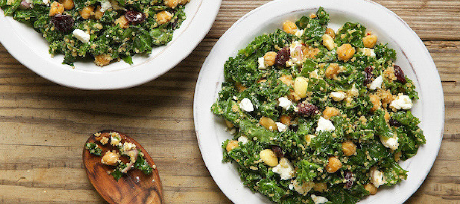 Top 5 Meal Kits Featuring Kale | Kale, Quinoa, and Dried Cherry Salad