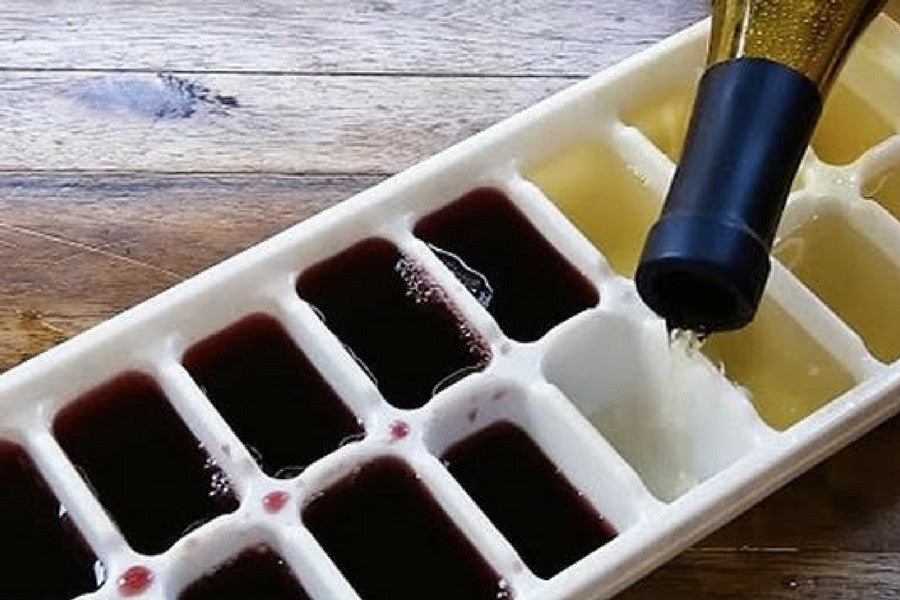 8 Clever Ways to Reuse Old Ice Trays | Save Every Drop of Your Favorite Wine