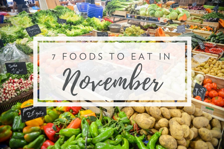 What's in Season in November | Fresh Meal Kit Delivery from Chef'd