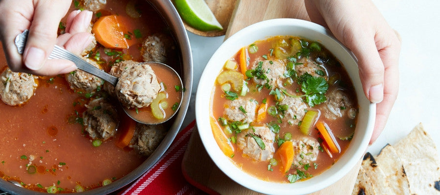 Cold-Busting Meal Kits You'll Love | Albondigas Meal Kit
