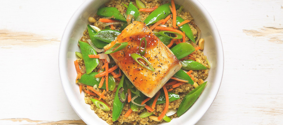 Top 10 Dinners in a Bowl | Apricot Glazed Mahi Mahi Bowl Meal Kit