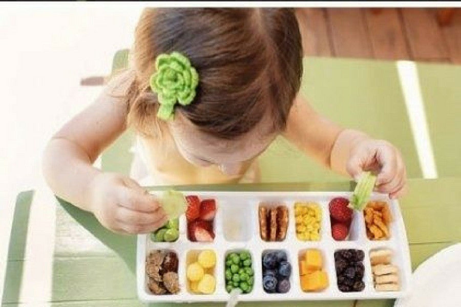 8 Clever Ways to Reuse Old Ice Trays | Use Them as a Snack Tray for Toddlers