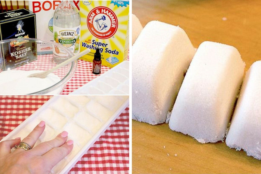 8 Clever Ways to Reuse Old Ice Trays | And When You're Done, Clean them with Homemade Dishwasher Detergent