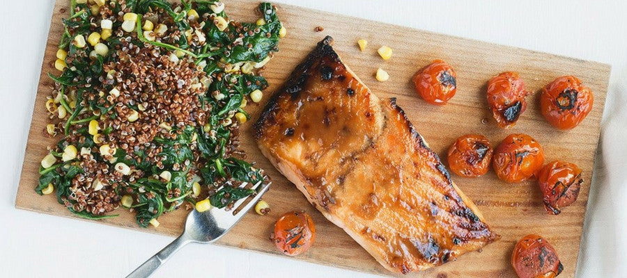 Cold-Busting Meal Kits You'll Love | Maple Glazed Salmon Meal Kit