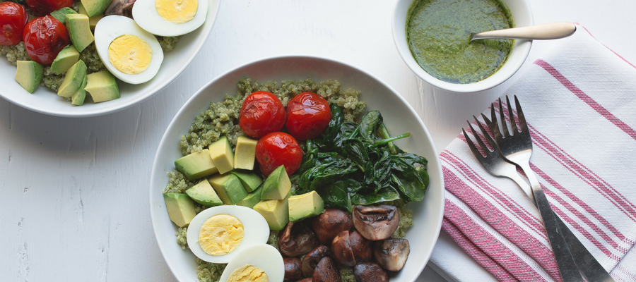 Top 10 Dinners in a Bowl | Pesto Quinoa Bowl Meal Kit