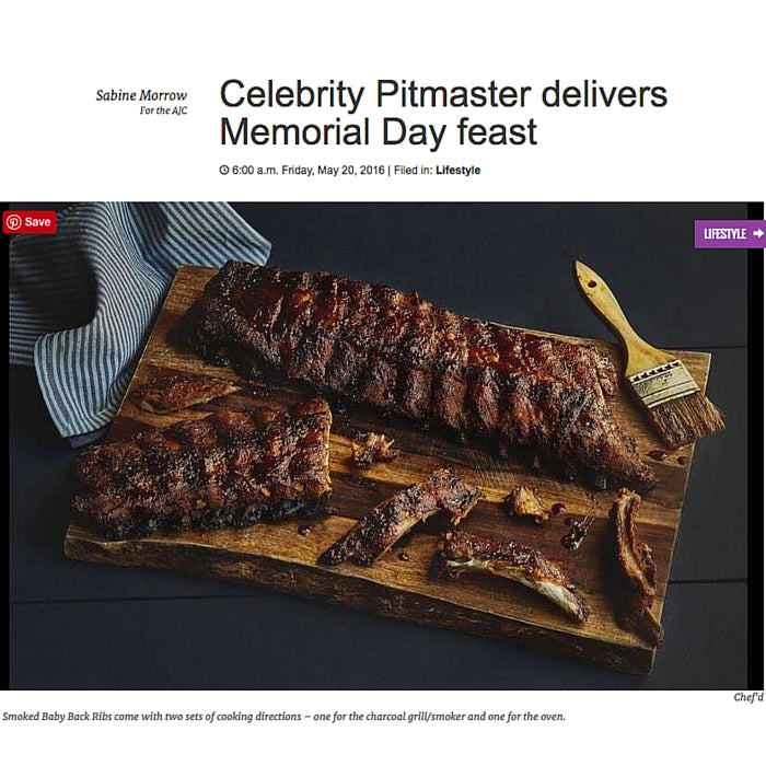 Celebrity Pitmaster delivers Memorial Day feast