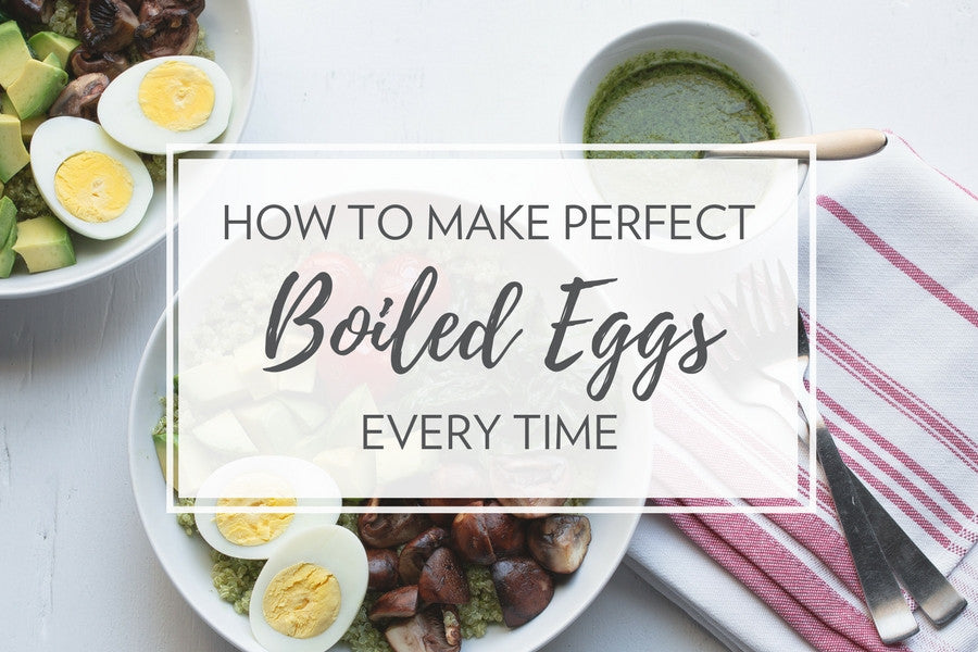 How to Make the Perfect Boiled Eggs—Every Time