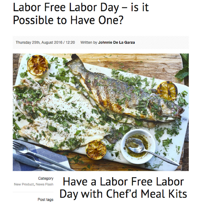 Labor Free Labor Day – is it Possible to Have One?