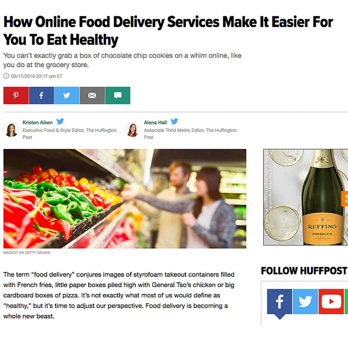 How Online Food Delivery Services Make It Easier For You To Eat Healthy