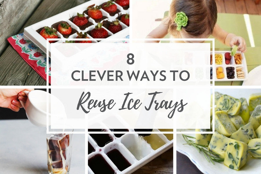 8 Clever Ways to Reuse Ice Trays