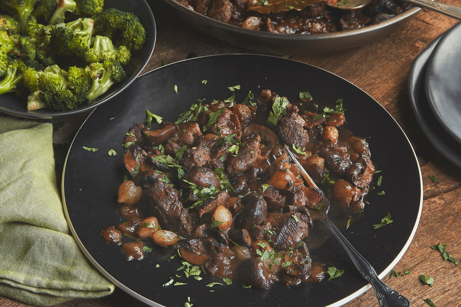 Beef Bourguignon by the New York Times Cooking