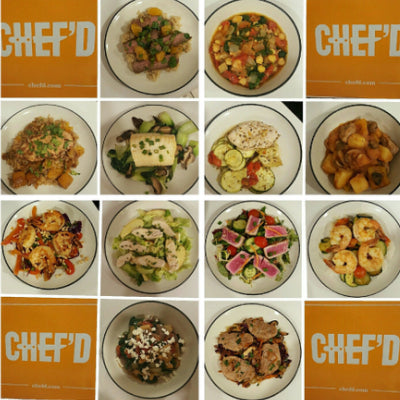 Chef'd Weight Watchers collage