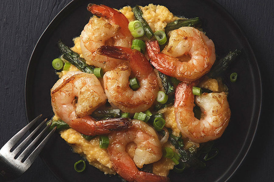 Shrimp and Asparagus