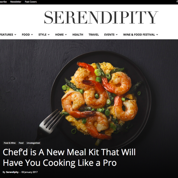 Chef'd Is A New Meal Kit That Will Have You Cooking Like A Pro