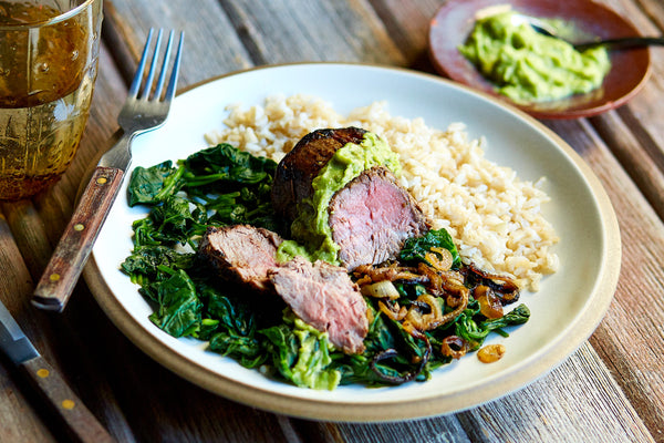 Latin Herb-Crusted Beef Tenderloin