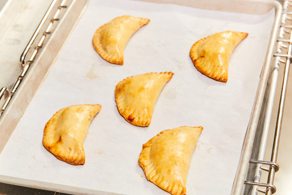 Sweet Potato, Chorizo, and Roasted Corn Empanadas
