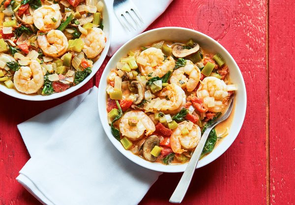 Spicy Shrimp Diablo