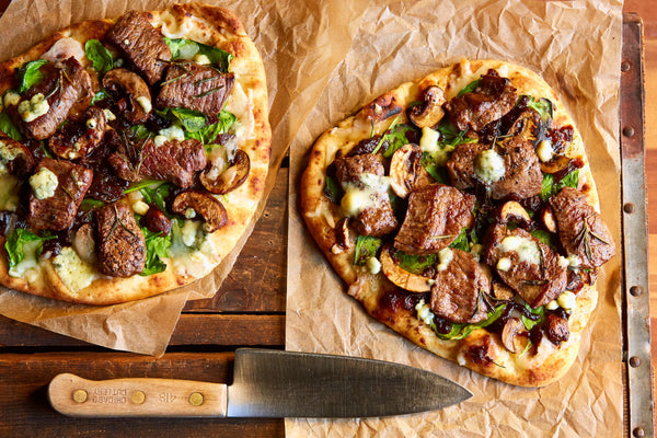 Flank Steak Flatbread