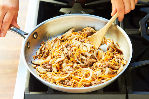 Pancit Noodles with Braised Short Rib
