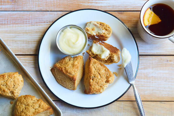 Orange Scented Scones