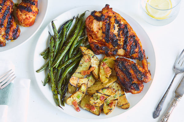 Barbecue Rub Grilled Chicken