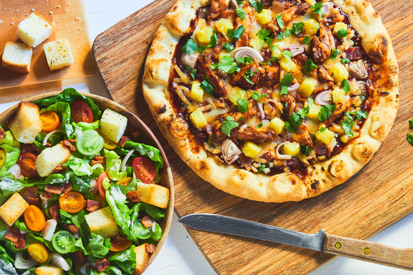 Aloha BBQ Chicken Pizza