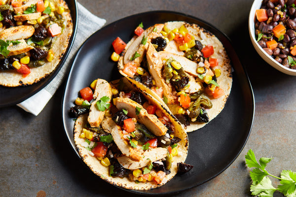 Chicken Tacos with California Prunes Salsa