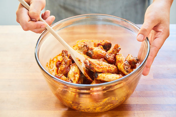 Sweet Korean BBQ Chicken Wings