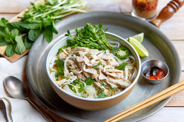 Quick Chicken Pho