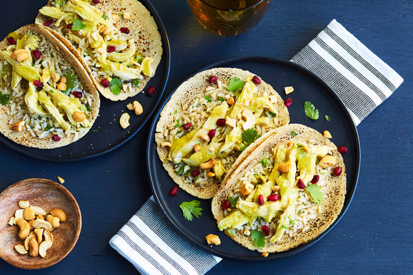 Green Curry Chicken Tacos