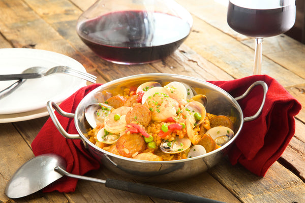 Spanish Paella and Clams