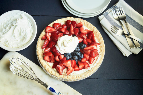 Mixed Berry & Mascarpone Pie