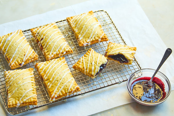 Blackberry Pastry Pies