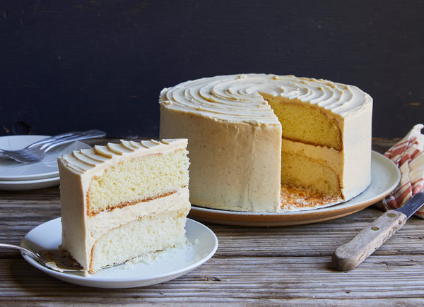 Brown Butter Vanilla Cake