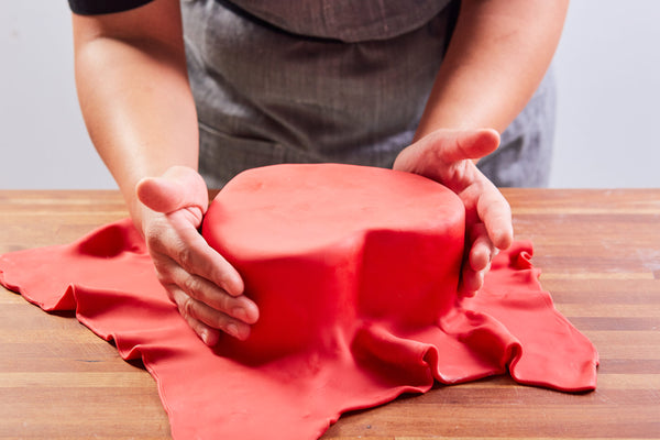 Heart Carved Cake