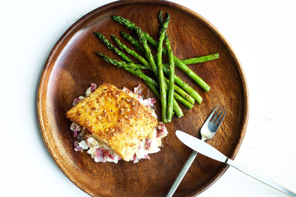 Hazelnut Crusted Halibut