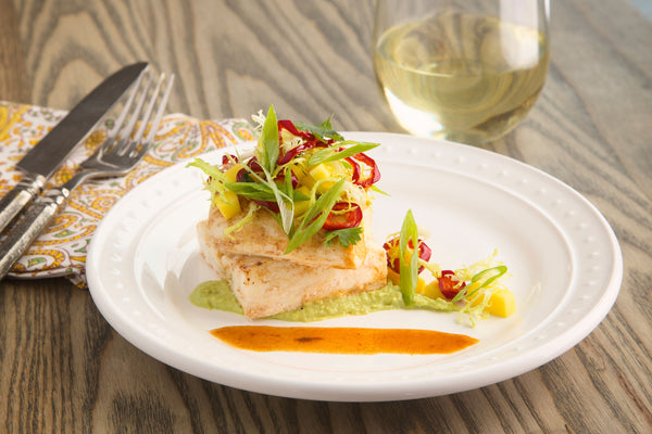 Chipotle-Glazed Halibut