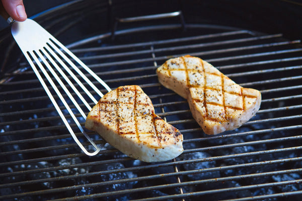 Grilled Swordfish with Dill Aioli