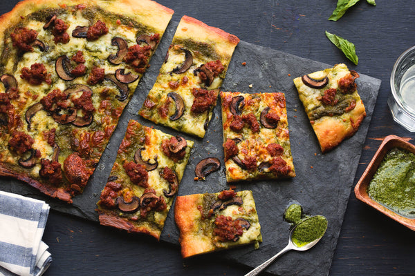 recipe: talian pesto pizza [25]