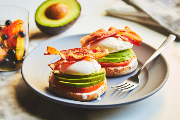 Easy California Eggs Benedict