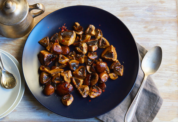 Balsamic Glazed Mushrooms